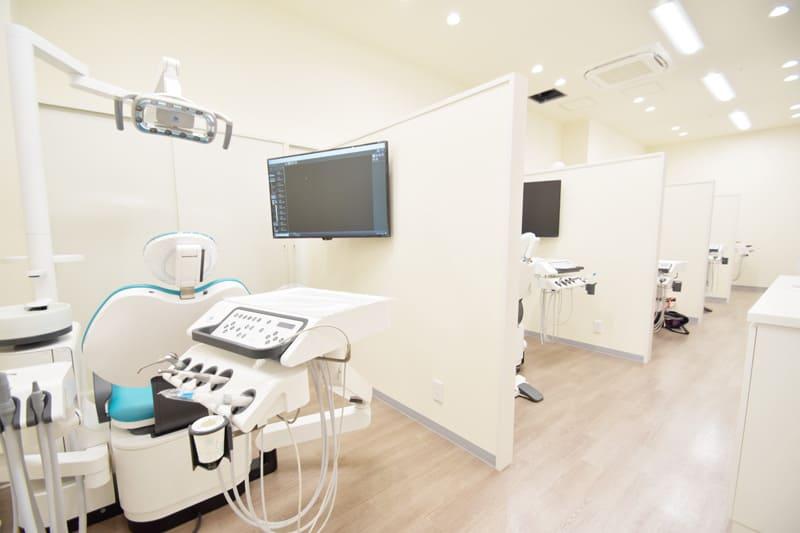 市川市 南行徳 ソコラ南行徳店 ココロ南行徳歯科クリニック 2021年最新式の設備を完備